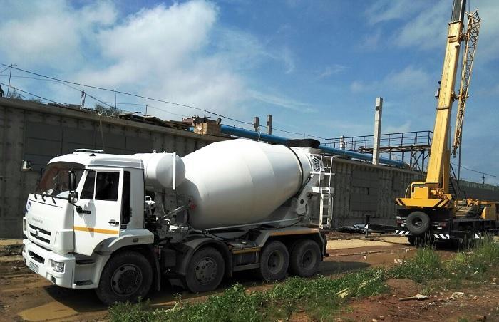Доставка бетонной смеси может выполняться бетон финляндия