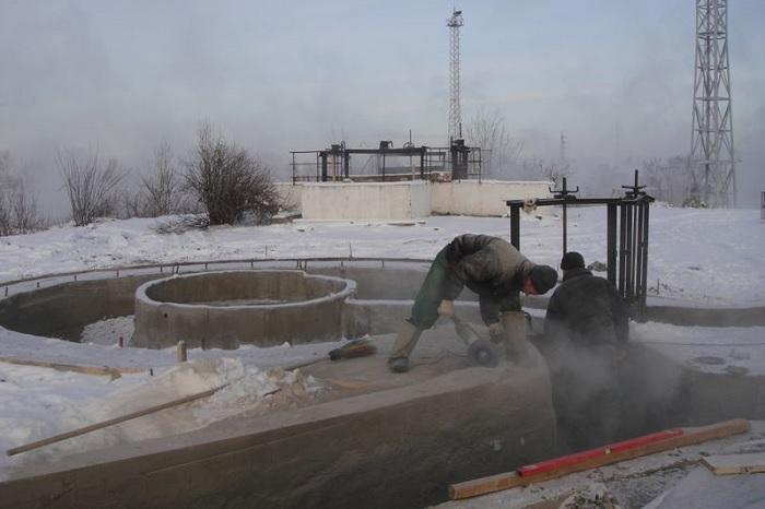 Гидроизоляция в зимний период года