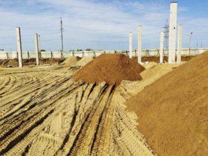 Строительный песок применение