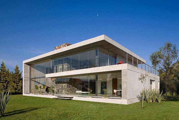 монолитный дом из бетона