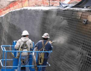Торкрет-бетон